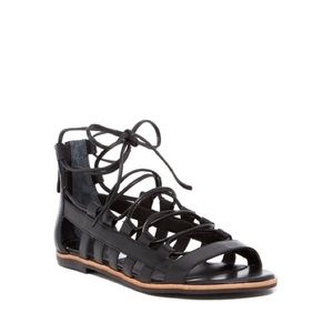 NEW Franco Sarto Appalachia Lace Up Sandals